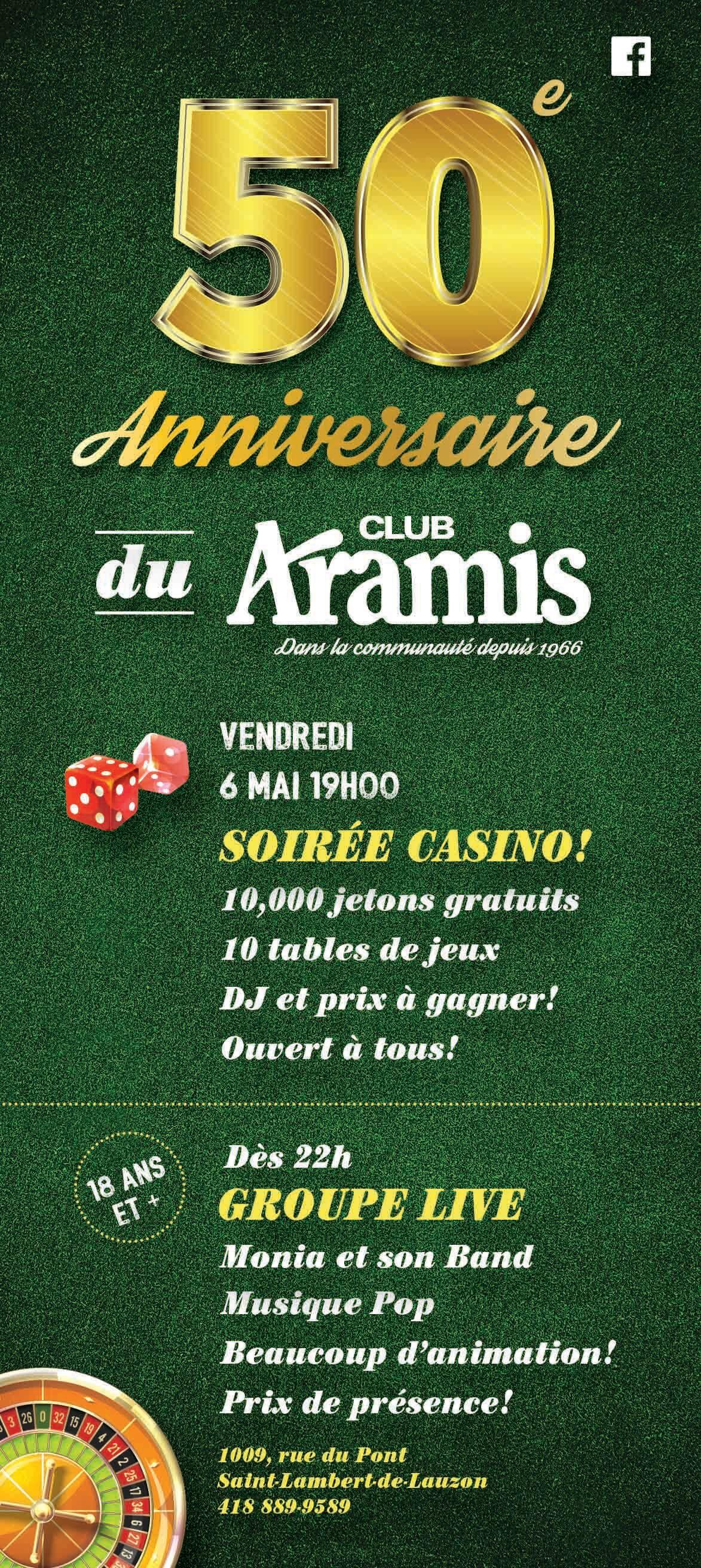 front-flyers-50e-club-aramis-graphisme-levis