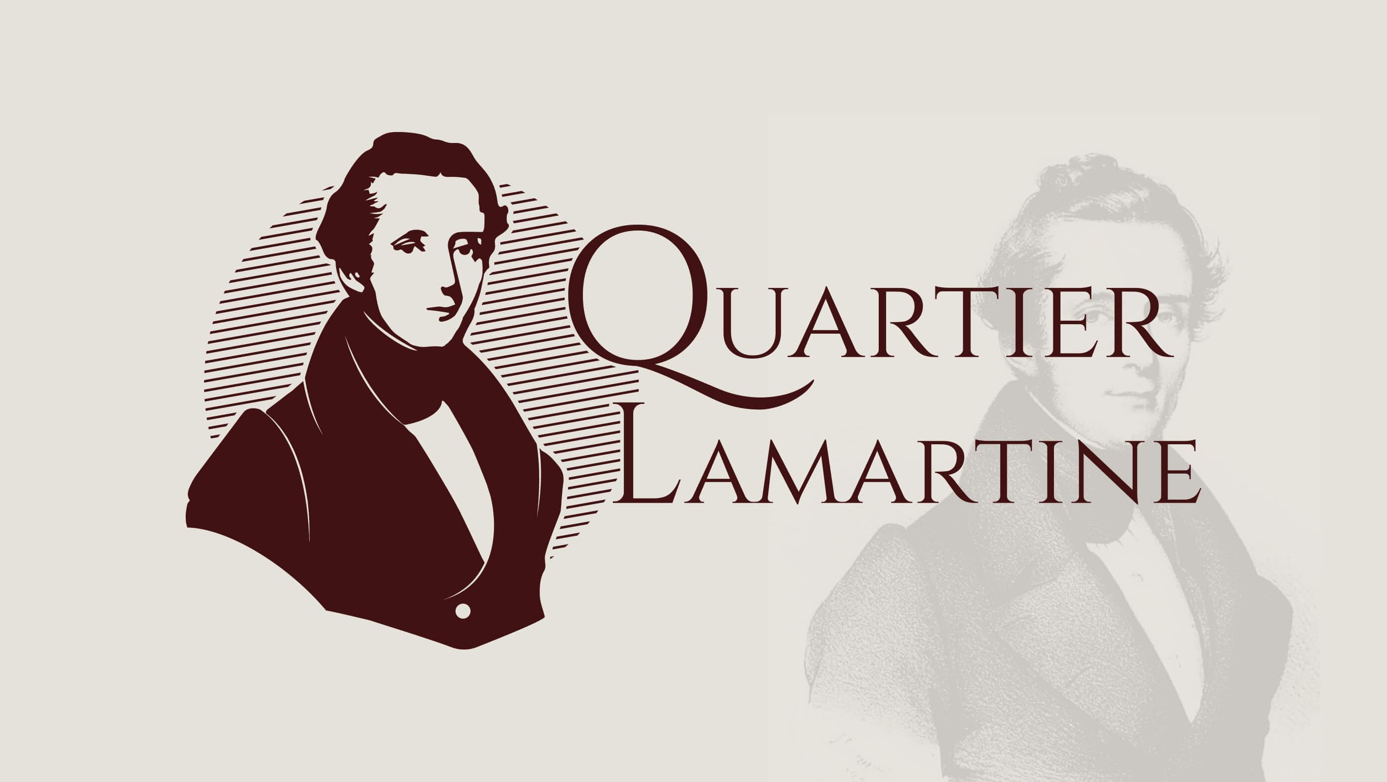Design graphique Logo Quartier Lamartine